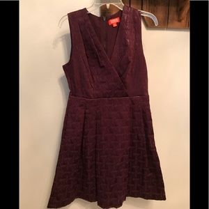 Zirna Zabete for Target Purple Sleeveless Dress